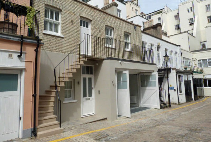 Example of a stone staircase restoration in London