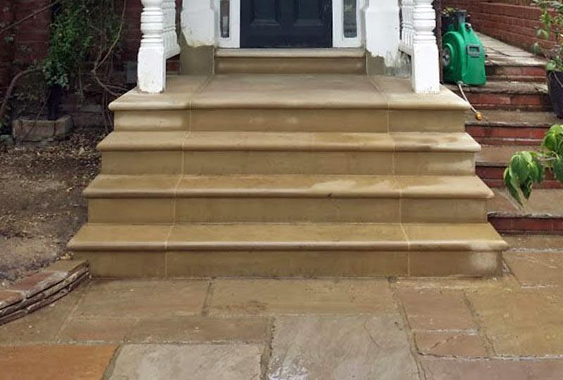 Highgate stone steps build