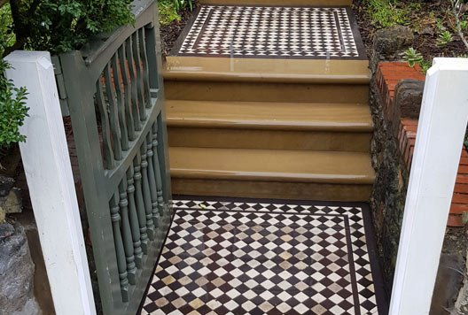 Internal stone staircase by our stonemasons at Stone Steps and Paving